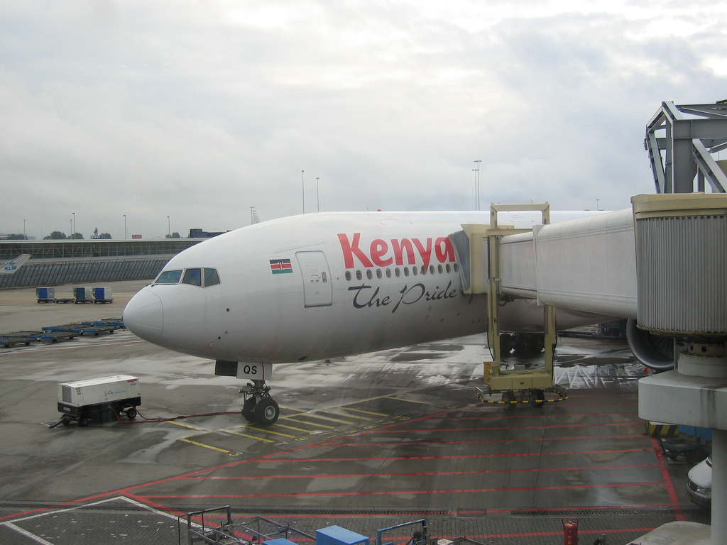 Leaving Kenya