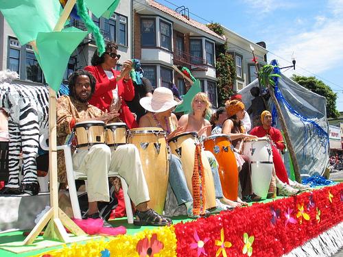 Multiracial festival