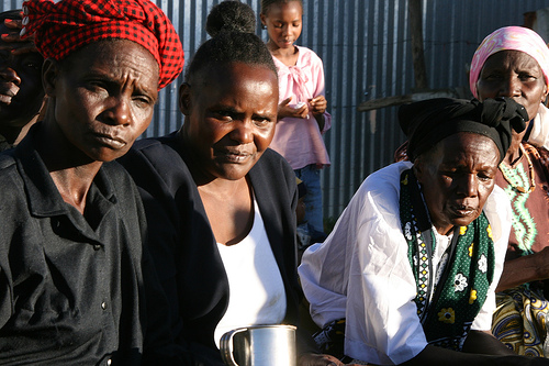 Strong Kenyan women